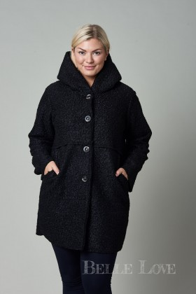 Belle Love Italy Florence Hooded Winter Coat