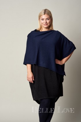 Belle Love Italy Cashmere Mix 7 Way Poncho