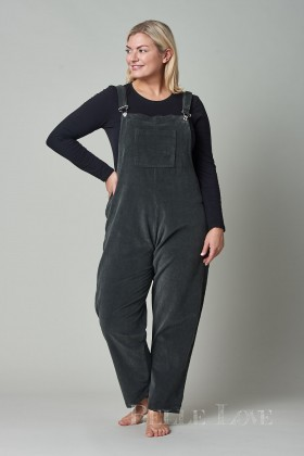 Belle Love Italy Needle Cord Dungarees