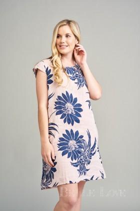 Belle Love Italy Chiara Linen Dress