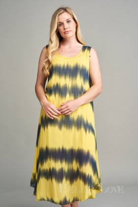 Belle Love Italy Nico Tie-Dye Sun Dress