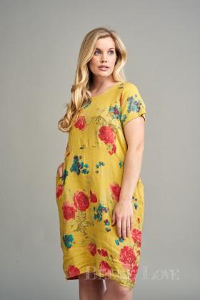 Belle Love Italy Lia Linen Dress