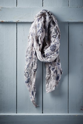 Belle Love Italy Pearl Drop Silk Mix Scarves