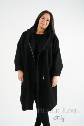 Belle Love Italy Hooded Cheshire Coat
