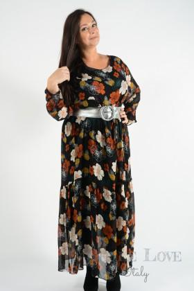 Belle Love Italy Annika Print Maxi Dress