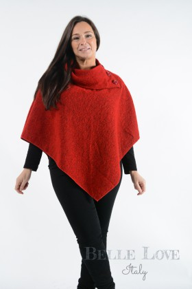 Belle Love Italy Pienza Wool Poncho