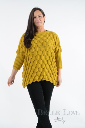 Belle Love Italy Nova Crochet Jumper