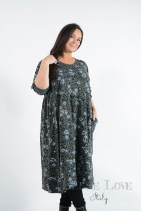 Belle Love Italy Alora Animal Print Dress