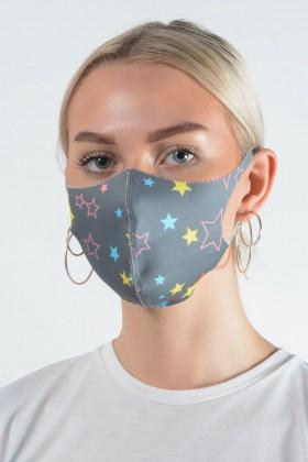 Belle Love Italy Star Face Mask
