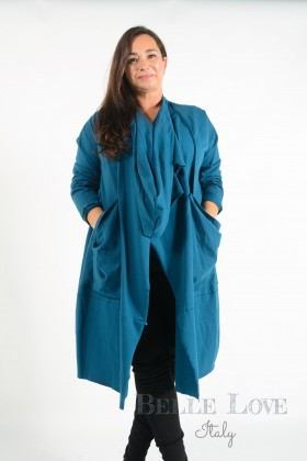 Belle Love Italy Evie Twist Lightweight Coat