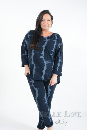 Belle love Italy Teagan Tie-Dye Loungewear Set