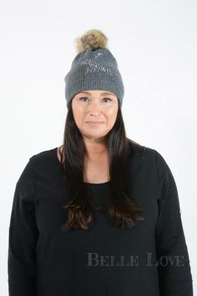 Belle Love Italy Zahra Star Pom Pom Hat